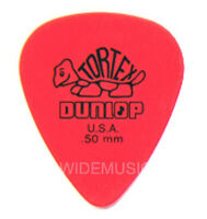 DUNLOP TORTEX GUITAR PICKS / PLECTRUMS 0.50mm 12 PACK