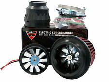 5PSI ELECTRIC SUPERCHARGER TURBO ADD HORSEPOWER + TORQUE INTAKE FOR AUDI