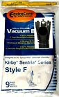 9 F Style Microfiltration Vacuum Bags for Kirby Sentria I & II G10D