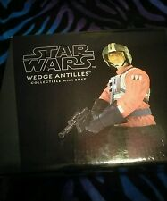 Gentle Giant - Star Wars: A New Hope Wedge Antilles Mini Bust Statue RARE