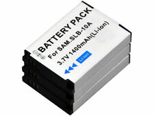 new 3pcs SLB-10A Battery for WB150F WB151F WB152F WB250F WB280F SL820 HMX-U100EP