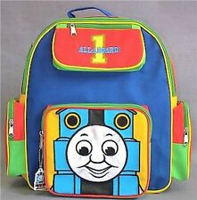 THOMAS the TANK & FRIENDS-BLUE RED CANVAS BACKPACK BACK PACK LOT *NWT/RARE*HTF*