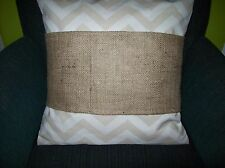 "12 wholesale Burlap Pillow Wraps Blank for painting Embroidery vinyl 18"" Pillow"