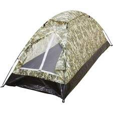 Maxam Waterproof Digital Camo Tent 1-PERSON Survival Gear Camping Hiking Fishing