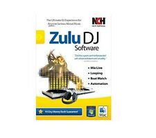 Zulu Virtual DJ Mixing Software Masters Edition , DJ solution for Pros