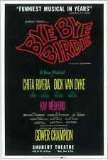 BYE BYE BIRDIE (BROADWAY) Movie POSTER 11x17 Dick Van Dyke Chita Rivera Dick