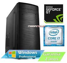 ORDENADOR PC TORRE SOBREMESA INTEL CORE i7 / 1TB HDD / 4GB RAM / GT210 NVIDIA