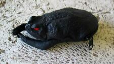 New Bufo Marinus Cane Toad Leather Collectible Coin Purse Black Gothic