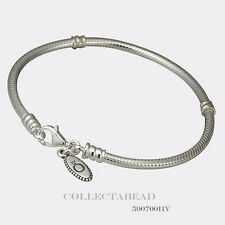 Authentic Pandora Sterling Silver Bracelet with Lobster Lock 6.3 590700HV