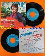 LP 45 7'' NICOLA DI BARI I giorni dell'arcobaleno Era di primavera (*) cd mc dvd