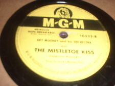 78RPM MGM 10522 Art Mooney, The Mistletoe Kiss / Jingle Bells V+