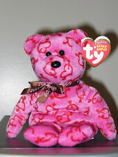 Ty Beanie Baby ~ HEARTLEY the Bear (Hallmark Goldcrown Exclusive) ~ MWMT'S