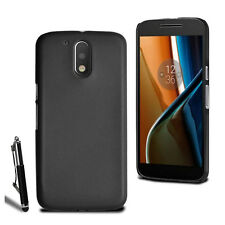 For Various Motorola Moto Phone Slim Hard Case Cover + Retractable Stylus + Film