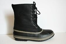 Sorel for JCrew Men's 1964 Premium T Boots 9 Black Winter Snow Boot