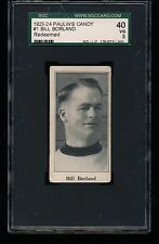 1923 V128-1 Paulin's Candy BILL BORLAND #1 SGC 40 3