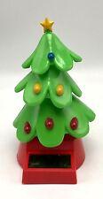 Solar Powered Dancing Christmas Tree Animated Bobble Swing New