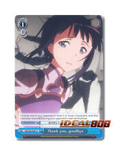 Weiss Schwarz Sword Art Online x 4 Thank you, goodbye [SAO/S20-E097 U] English