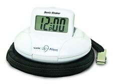 Sonic Shaker SBP100 Vibrating Travel Alarm Clock - Hard of Hearing, Deaf