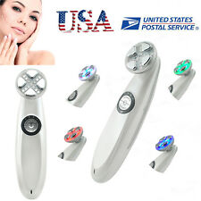RF EMS Electroporation LED Light Therapy For Acne Skin Tightening Anti-Age  USA