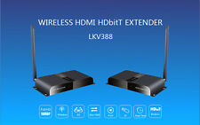 164Ft /50M,Wireless HDbitT HDMI over IP Extender 1080P Converter Repeater,Tx+Rx