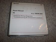 1998-2000 Audi A6 Quattro Electrical Wiring Diagrams Troubleshooting Manual 1999