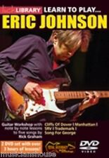LICK LIBRARY Learn to Play ERIC JOHNSON Lesson ROCK BLUES Electric GUITAR DVD