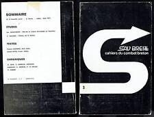 Sav Breizh Cahiers Du Combat Breton Numéro 3 - Juillet Aout 1971