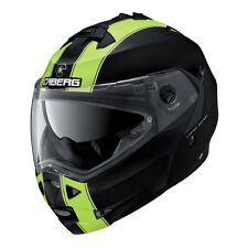 CASCO MODULARE CABERG DUKE LEGEND MATT BLACK - YELLOW FLUO + PINLOCK TAGLIA L