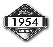 Vintage Edition 1954 Classic Retro Cafe Racer Style Vinyl Motorcycle car sticker