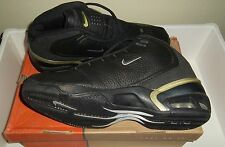 1997 Nike Air Max Unstoppable Basketball Shoes Black Metallic Silver Noir 11 US
