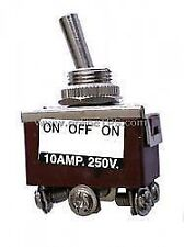 2Pc 10Amp DPDT Switch-Center Off-Toggle Type-Lock Action for Robotics