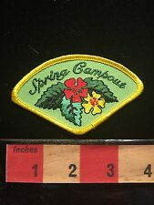Camper / Camping Jacket Patch ~ Spring Campout  67II