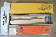 YE OLDE HUFF N PUFF PRECISION WOOD CAR KITS O SCALE AT&SF SANTA FE 40' REEFER mz