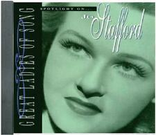 CD SALE!! ~ SPOTLIGHT ON: JO STAFFORD ~ GREAT LADIES OF SONG ~ 18 TRACKS!