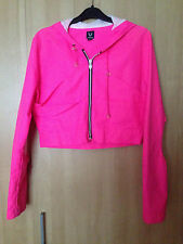 Cyberdog Pink Jacket Size Med - Lightweight / Windbreaking Style Club Cyber Rave