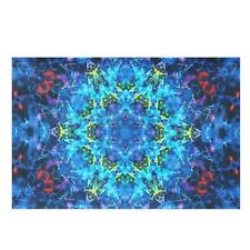 Psychedelic Trippy Silk Cloth Poster Art  Fabric Print Wall Home Decor 24x36''