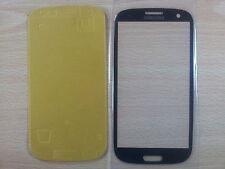 Cristal de Pantalla Tactil AZUL para Samsung Galaxy S3 SIII I9300+ Adhesivo