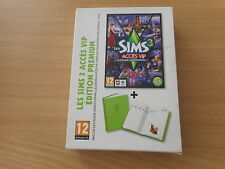 PC MAC DVD ROM-SIMS 3 ACCES VIP - DISQUE ADDITIONNEL + UN AGENDA NEUF 2011-2012