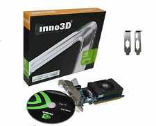 Inno3d Geforce PCI-E video card 2GB Low Profile for HP Dell Slim tower Hdmi 2 GB