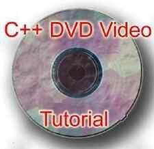 Microsoft C++ programming DVD VIDEO TUTORIAL ( CPP ANSI ISO )