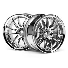 HPI Work ZSA 02C Wheel Chrome 3mm 3280