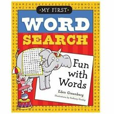 My First Word Search: Fun with Words by Greenberg, Eden