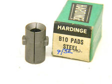 "NEW SURPLUS HARDINGE USA B10 x 9/32"" ROUND STEEL MASTER FEED FINGER PADS B-10"
