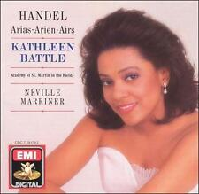 Handel: Arias - KATHLEEN BATTLE - Sir Neville Mariner (CD 1990, EMI)