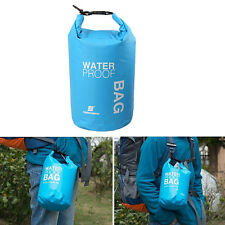 2L Sports Waterproof Dry Bag Backpack Floating Boating Kayaking Camping Blue