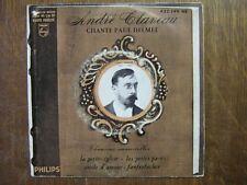 ANDRE CLAVEAU EP FRANCE CHANTE PAUL DELMET