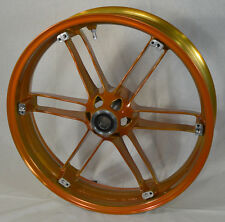 G0110.02A8BYBR, NEW In Box Buell Front Translucent Amber Wheel, All XB'S & 1125