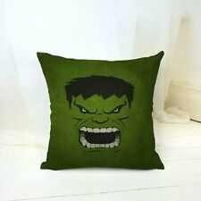 Hulk Face Cushion Cover DC/Marvel superhero comic book