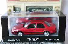 SAAB 9000 CDE 1995 METAL DARK RED NEO 44596 1/43 ROUGE FONCE LIMITED EDITION 300
