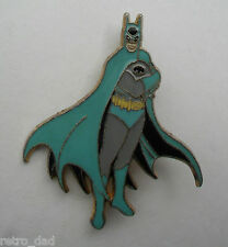 Comic Batman RARE Vintage Mint BLUE Enamel METAL PIN BADGE Brooch Pins DC Comics